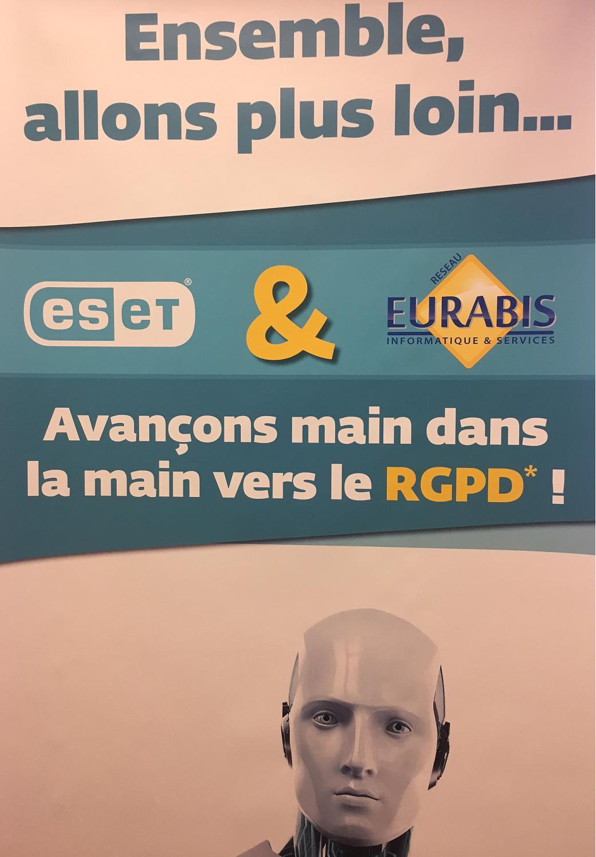 Avec Eset, soyons prêts pour le RGPD