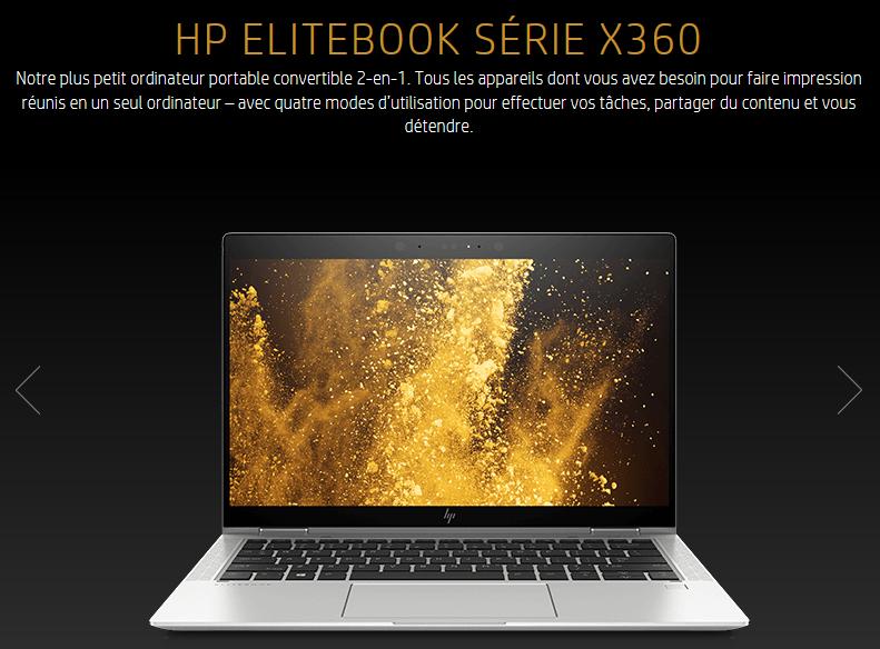 HP Elitebook Série X360